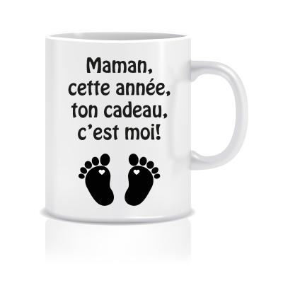 Mug pour annoncer votre grossesse