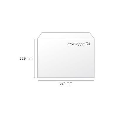 Impression enveloppe C4 22.9x32.4