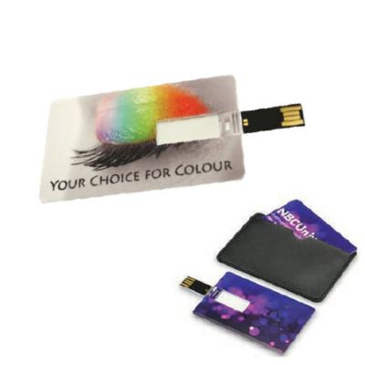 Clé USB en Carte Bancaire