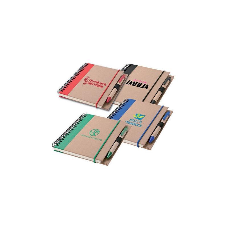 Carnet & Stylo Recyclables