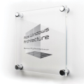 PLAQUE PLEXIGLASS