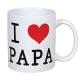 Mug I love PAPA